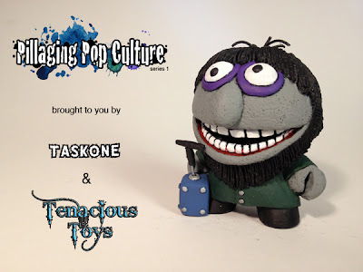 """Pillaging Pop Culture"" Custom The Muppets Blind Box Series by Task One - Crazy Harry Chase Figure"
