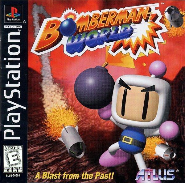 DICAS - PLAYSTATION 1-Bomberman World
