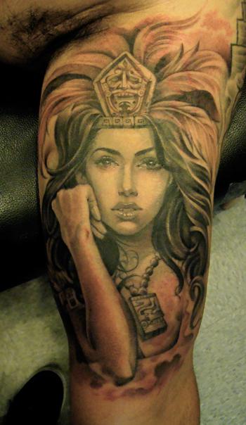 styles magazine aztec tattoos