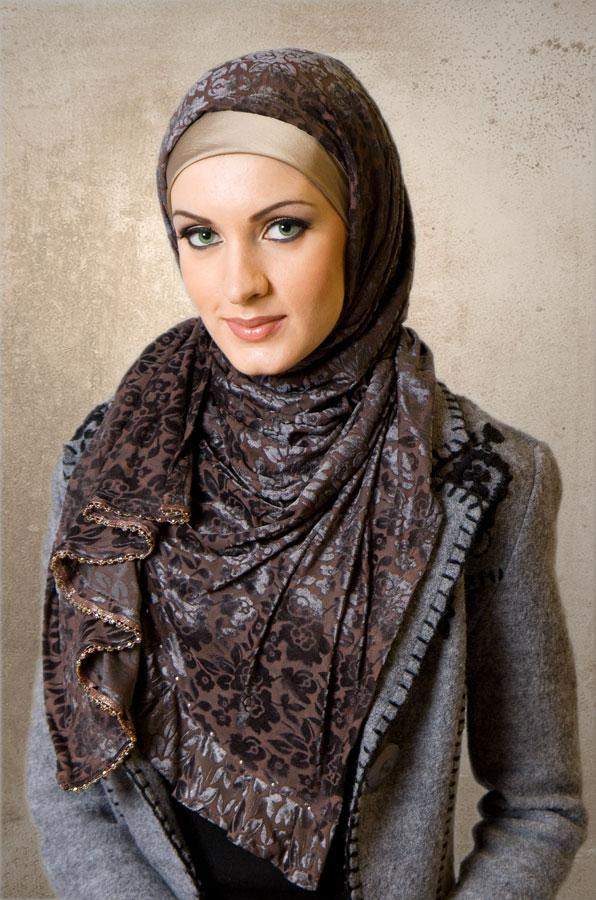 world style hijab scarf styles