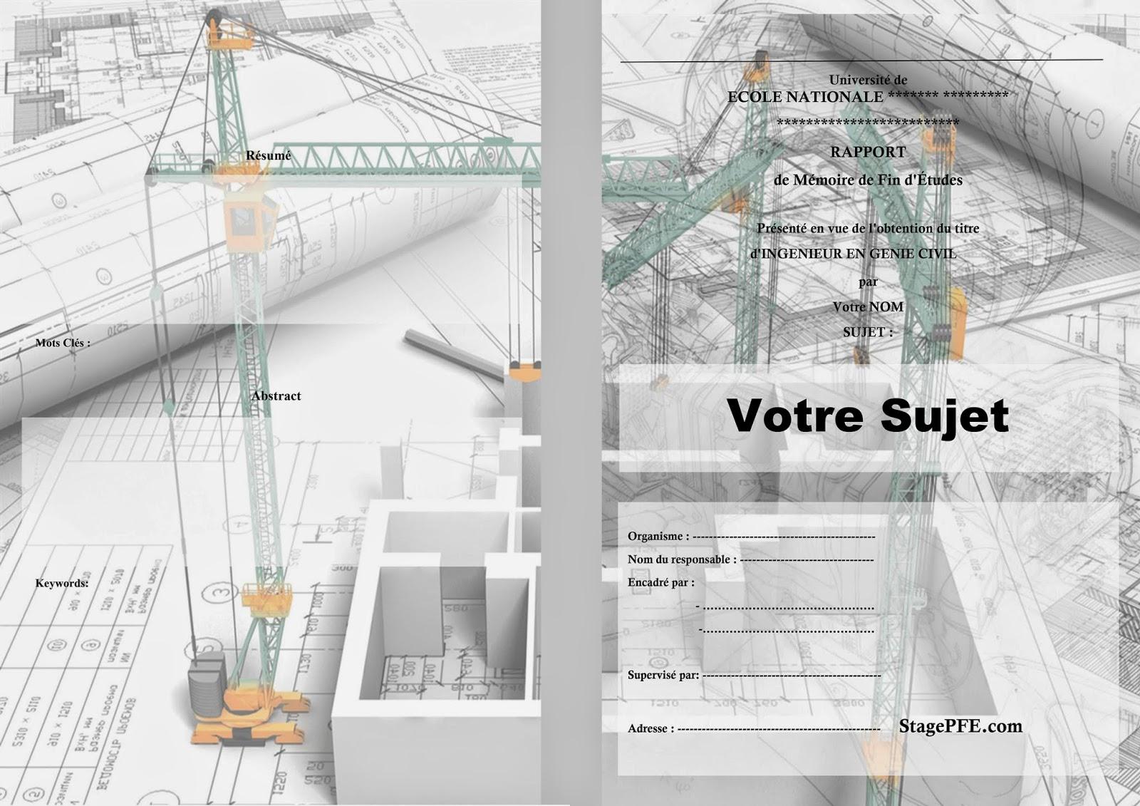 5bdocx 5d page de garde pour un  rapport de stage jpg