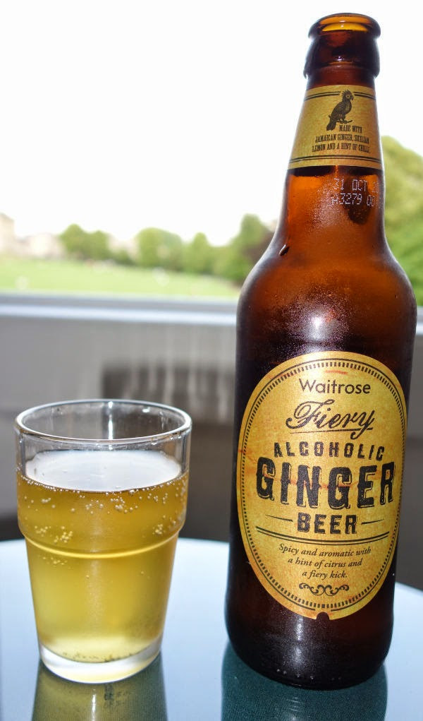 ... Fiery Alcoholic Ginger Beer Review - Refreshing and quite nice