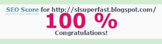skor seo SL Super Fast Blogger Template