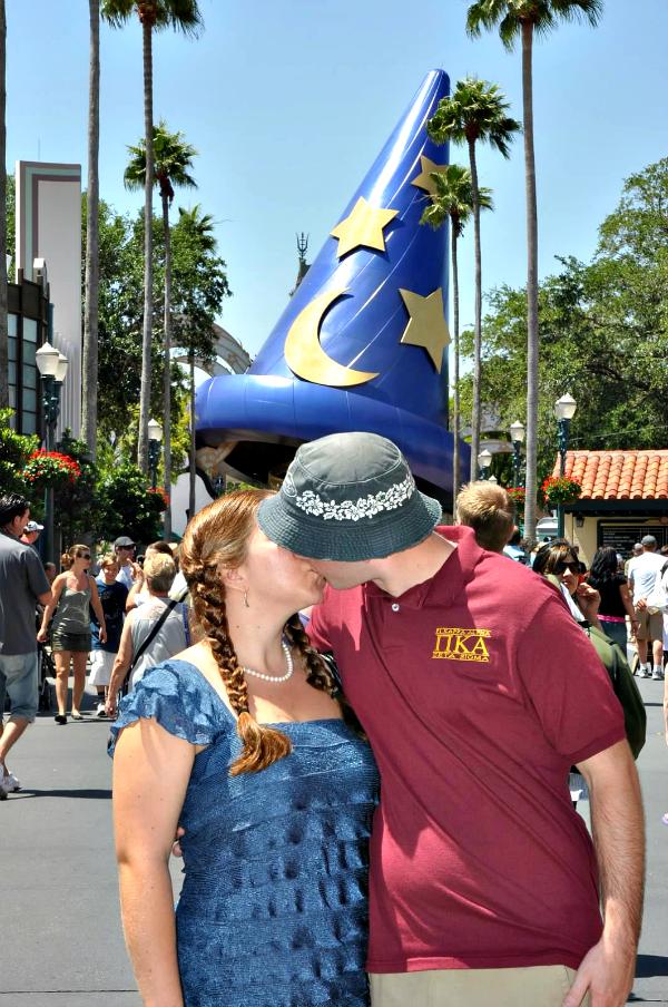 Disney's honeymoon