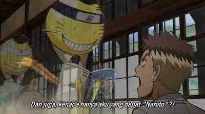 Ansatsu Kyoushitsu Episode 6 Subtitle Indonesia