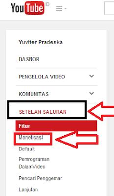 Daftar adsense lewat youtube