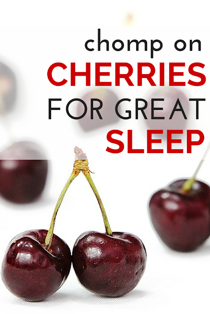 Tossing and turning at night?  Here is a natural and healthy way to get just the right amount of sleep you and your body need! Learn here how tart cherries can easily begin your road back to sweet dreams and a more energetic tomorrow! (TheHealthMinded.com) #health