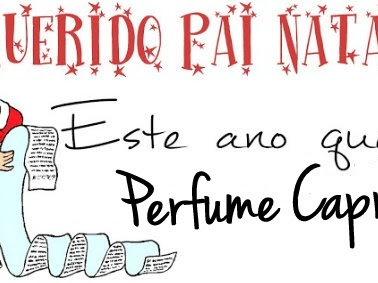 Lista de natal - segundo item - perfume capricho