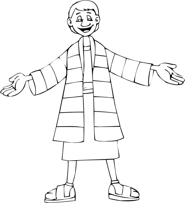Josephs coat template search results calendar 2015 for Joseph and the coat of many colors coloring page