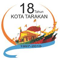 Logo 18 Tahun Kota Tarakan