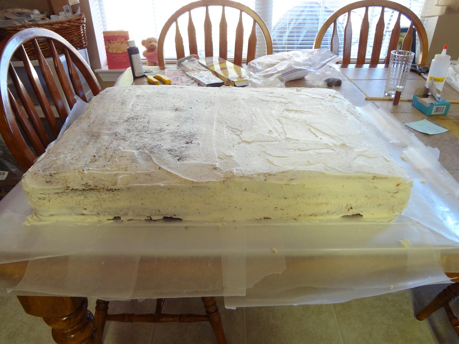 Eagle Birthday Cake