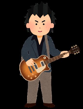 ギタリストのイラスト