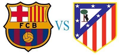 Prediksi Skor Barcelona vs Atletico Madrid 17 Desember 2012