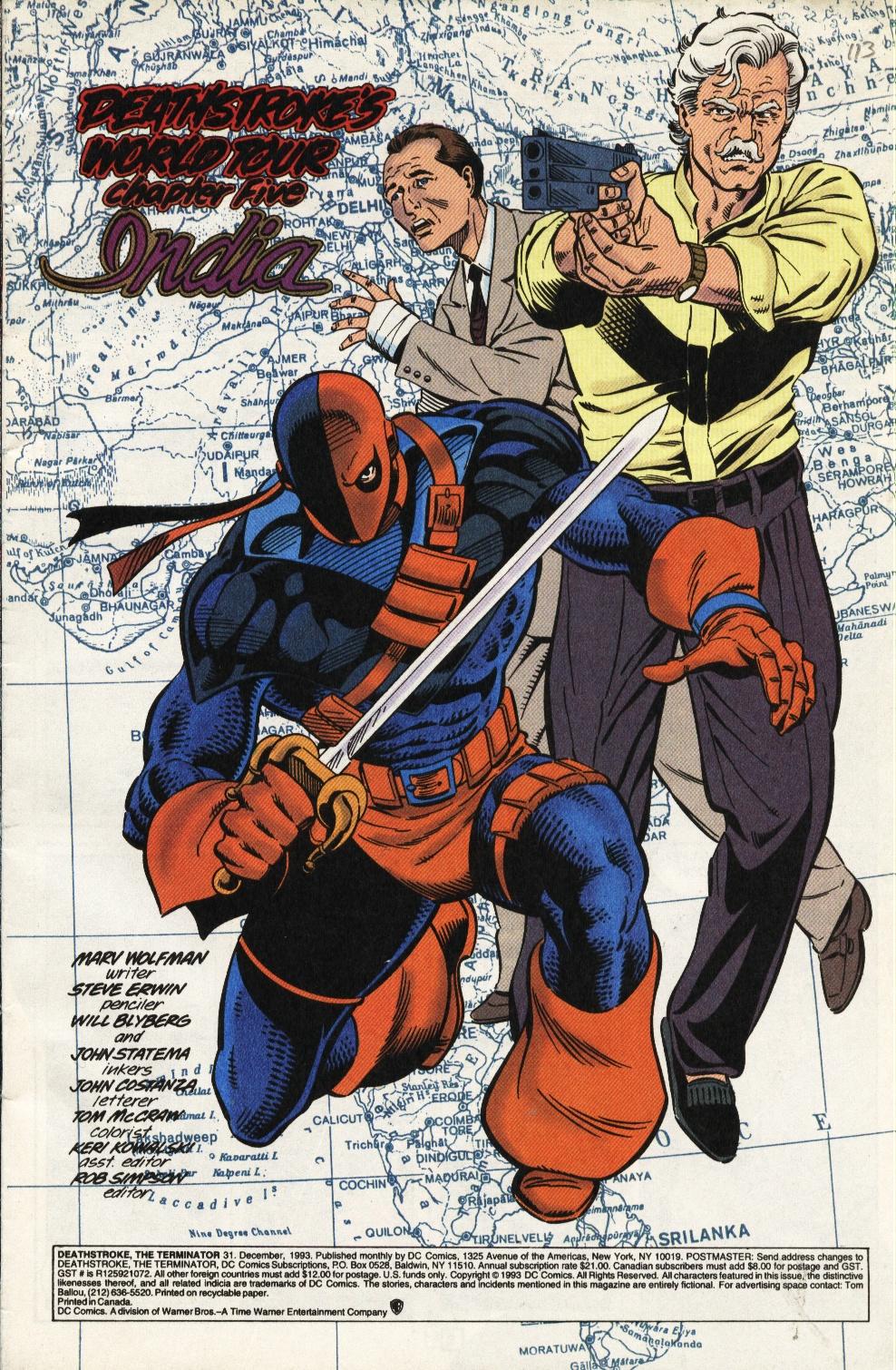 Deathstroke (1991) Issue #31 #36 - English 2