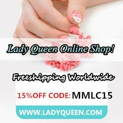 Lady Queen 15% off code MMLC15