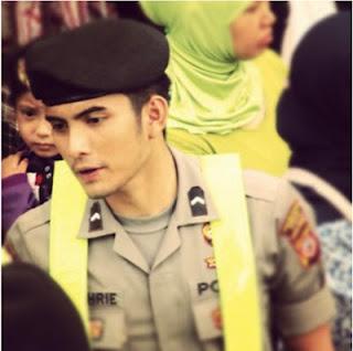 Profil Bripda Saeful Bahri ( Biodata - Foto ) - Polisi Ganteng, Bandung