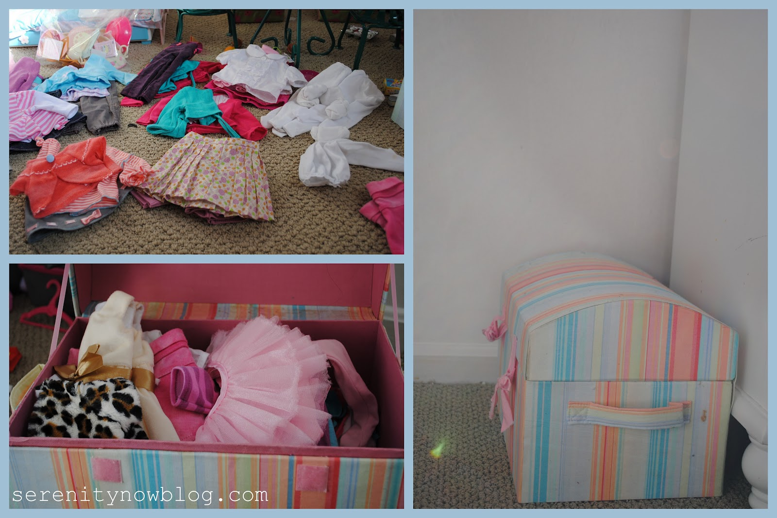 All The Clothes For The Larger Dolls Were Organized And Placed Back In The  Girlsu0027 Doll Trunk.