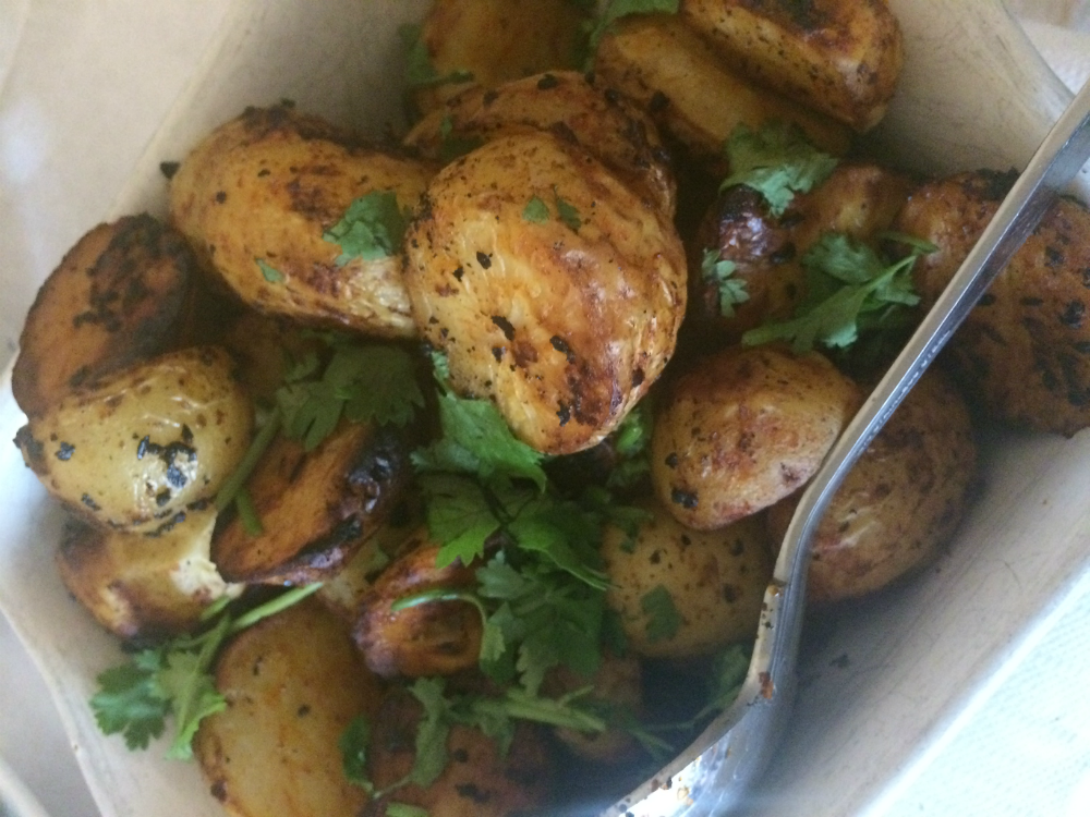 Amy's Spicy Spuds