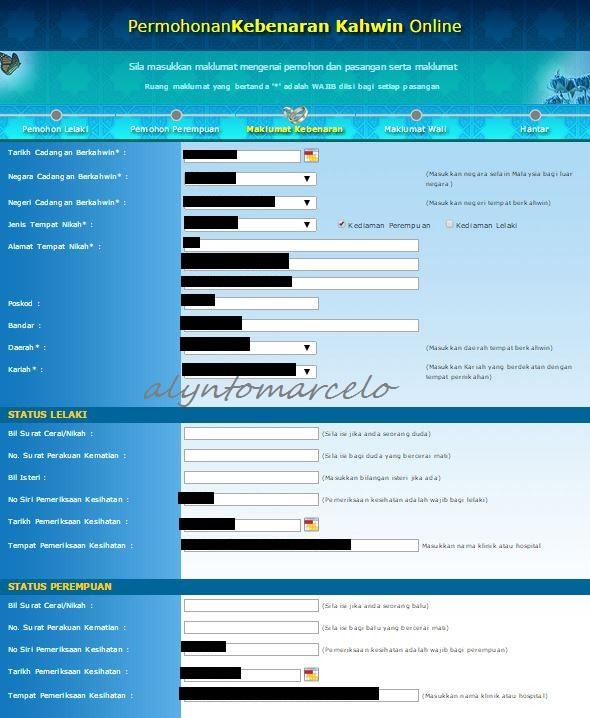 Panduan Isi Borang Nikah Online Negeri Sembilan