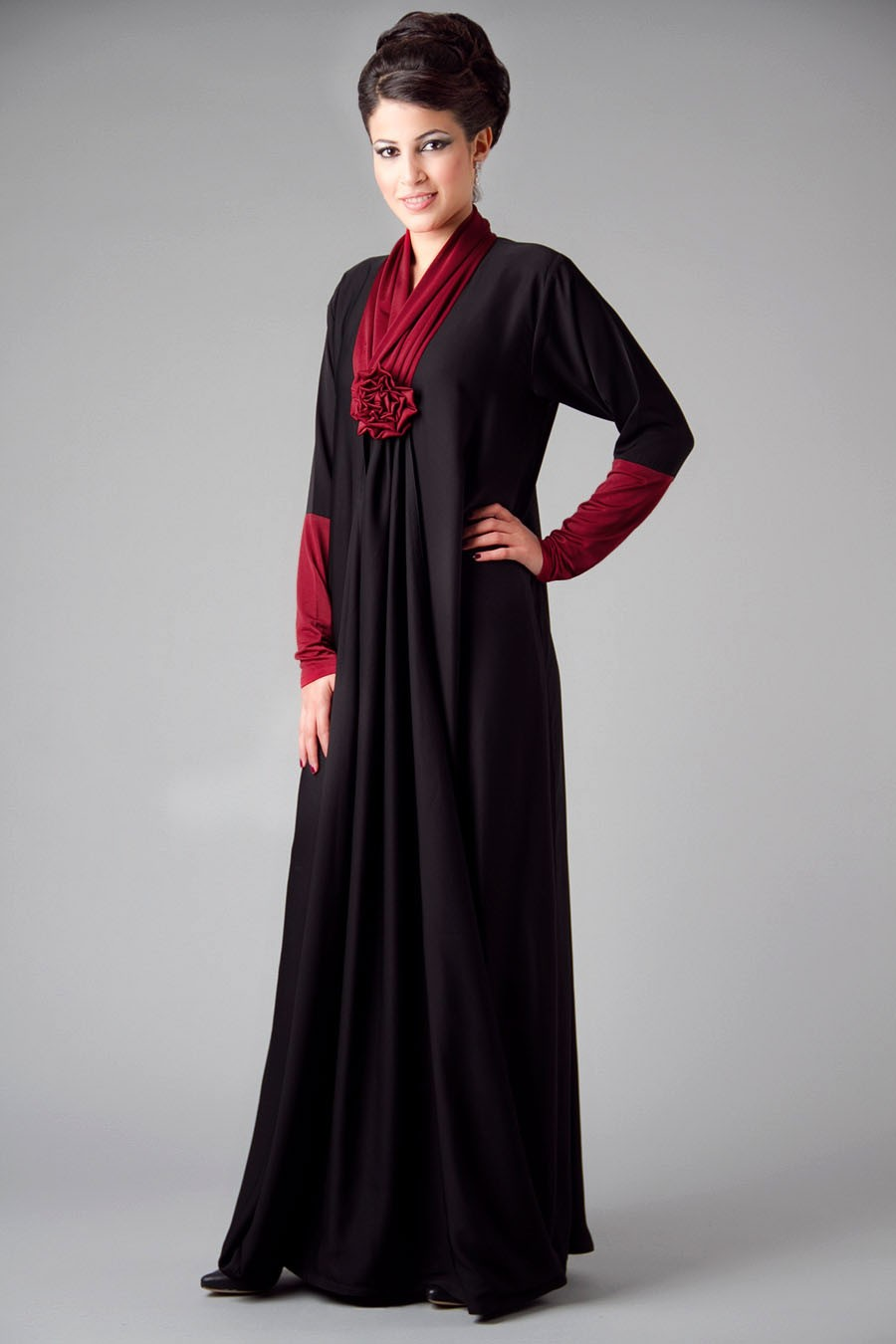 Embroidered Abaya Designs 2013 Islamic Abaya Dress Fashion 2013 14 New Fresh Fashion