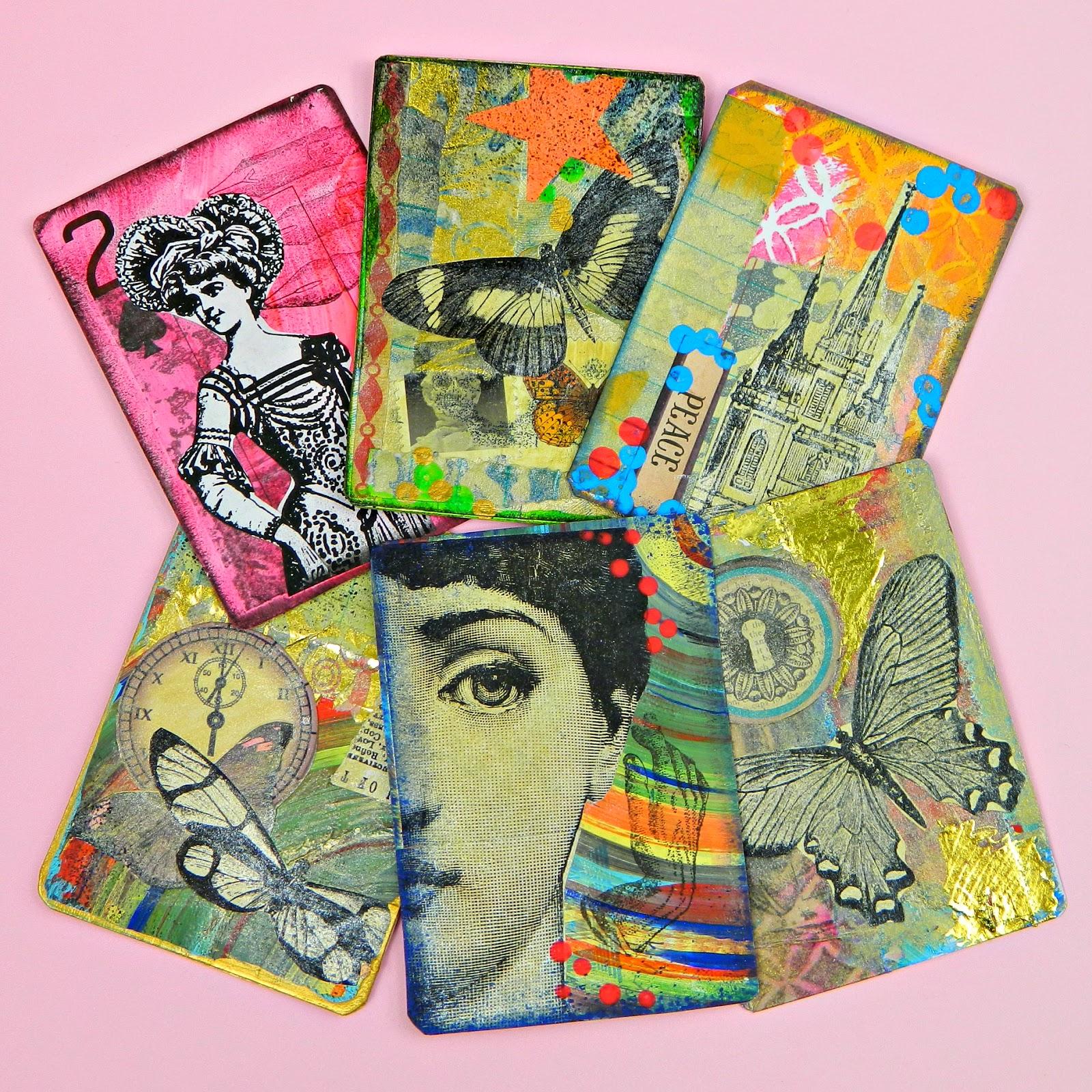mark montano artist trading cards diy and swap. Black Bedroom Furniture Sets. Home Design Ideas