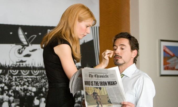 Железный человек (Iron Man) Пеппер Поттс и Тони Старк