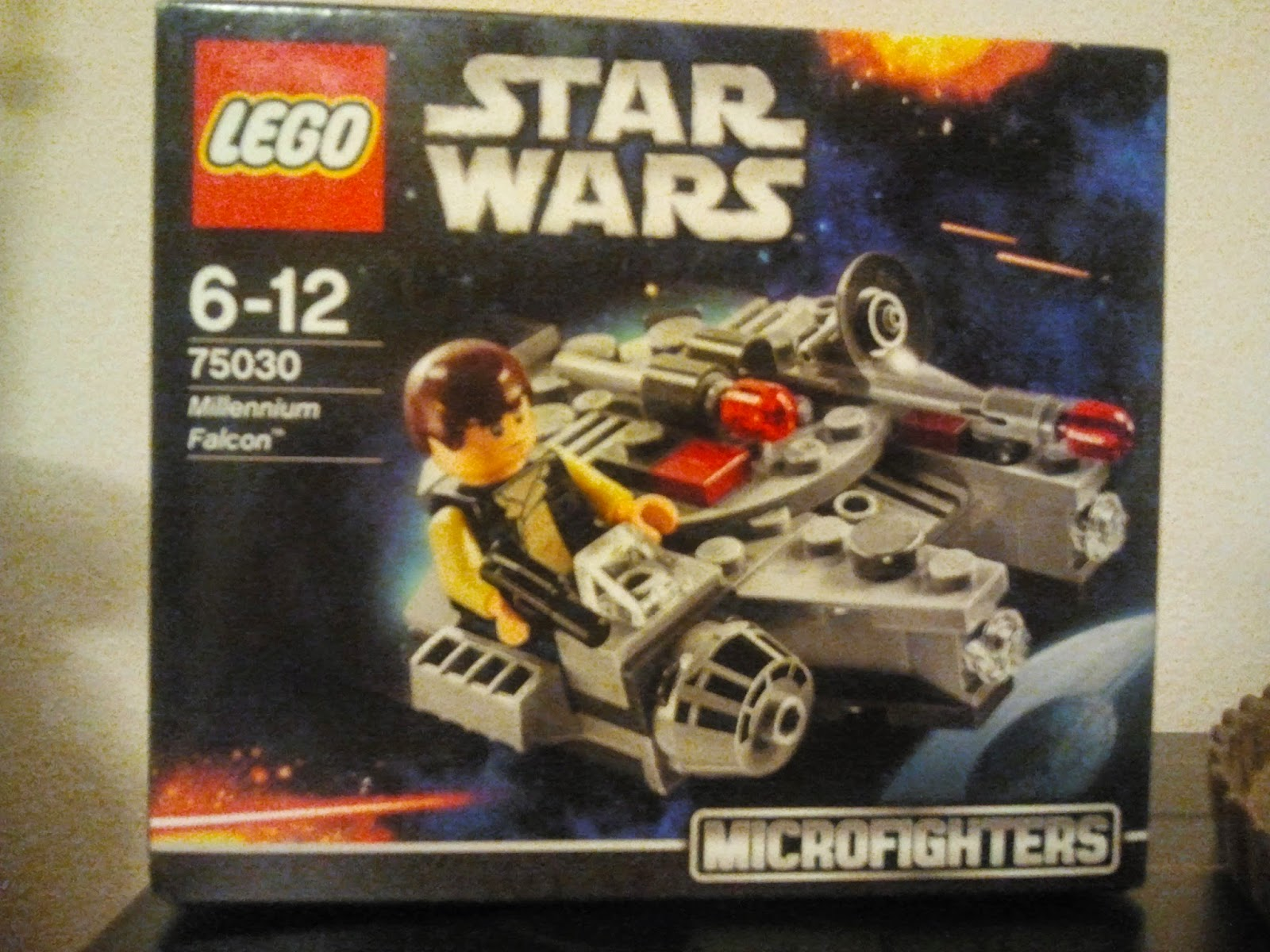 75030 model kit Lego Microfighter