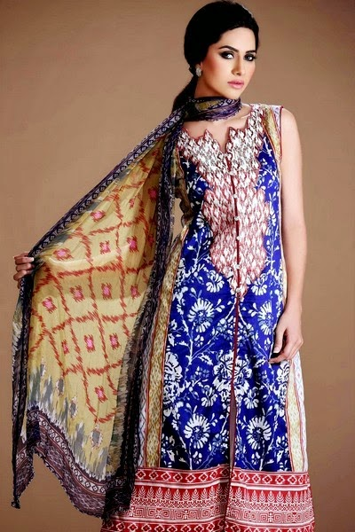 Gohar Textile - An-Nisa Eid Collection 2014