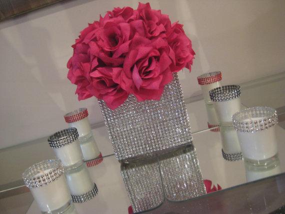 Unxia Bling Cube Vase