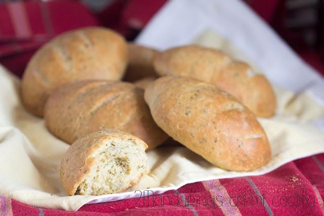 Barritas de pan a las hierbas provenzales