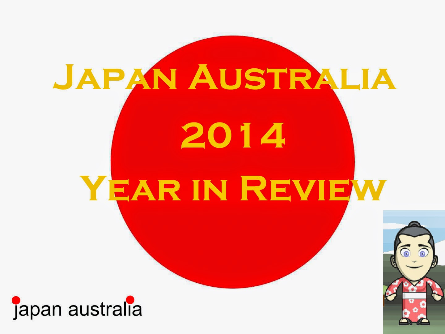 Japan Australia 2014 Year in Review