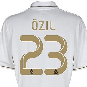 camiseta Ozil Real Madrid 2011 2012