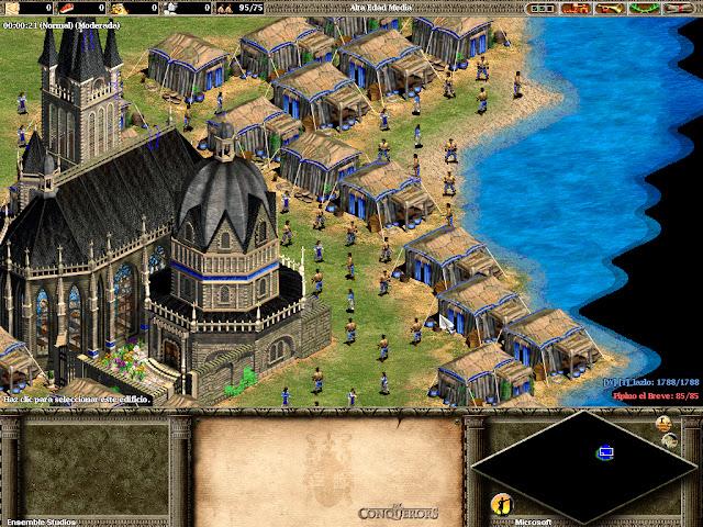 Recreacion de España en el Age of Empires