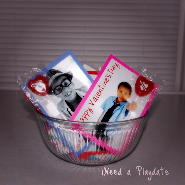 Sweet and Easy 3D Customized Photo Valentines