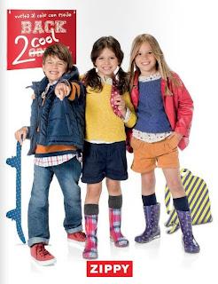 ropa de niños zippy sept 2013