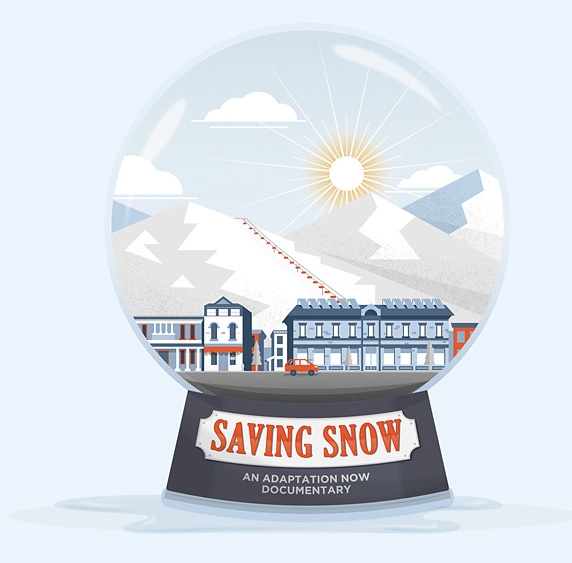 "Virtual film ""Saving Snow"" and online discussion"