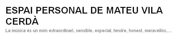 ESPAI PERSONAL