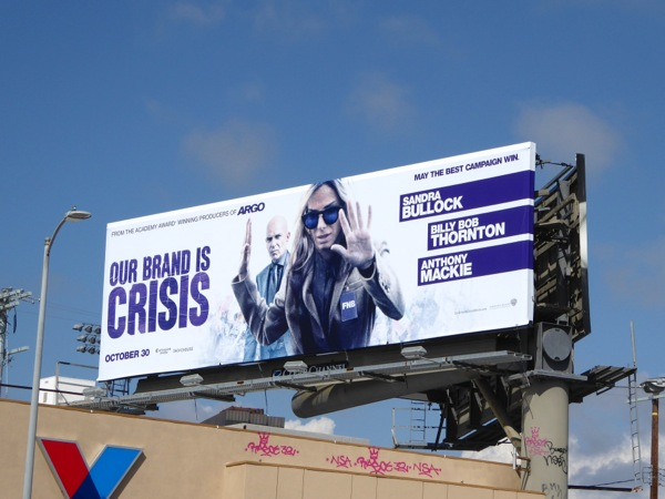 Our Brand is Crisis film billboard