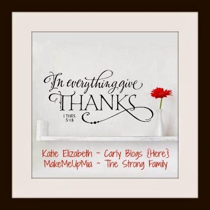 Thankful Thursday Link Up