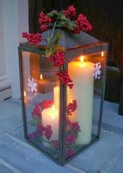 D coration home pat d corations de no l tendance 2014 - Grosse lanterne exterieur ...