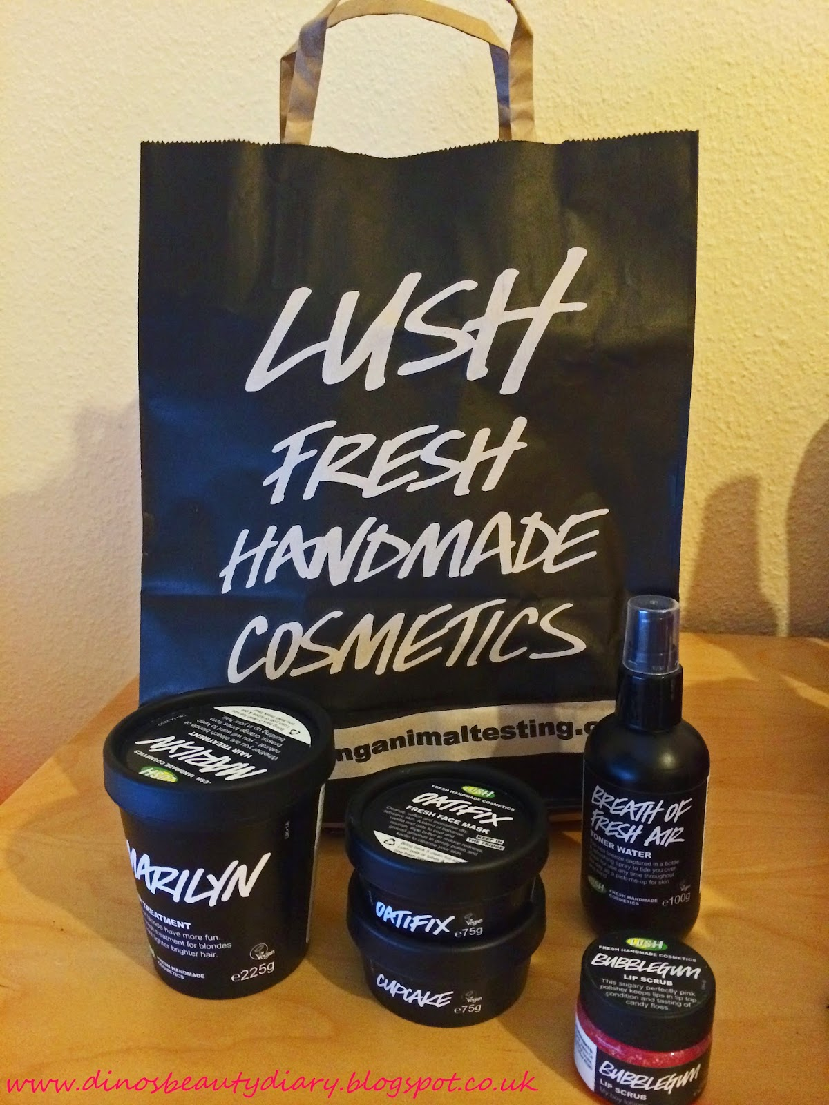 Lush Haul - DinosBeautyDiary.blogspot.co.uk