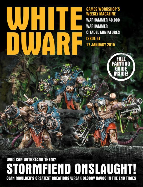 White Dwarf Weekly número 51 de enero