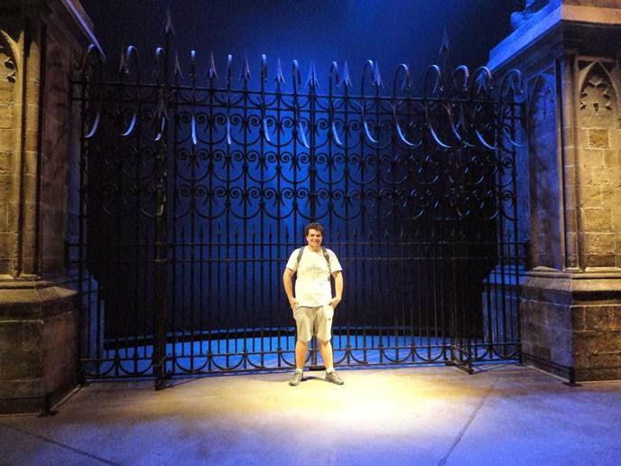 Portões de Hogwarts - Visitando os Estúdios de Harry Potter em Londres