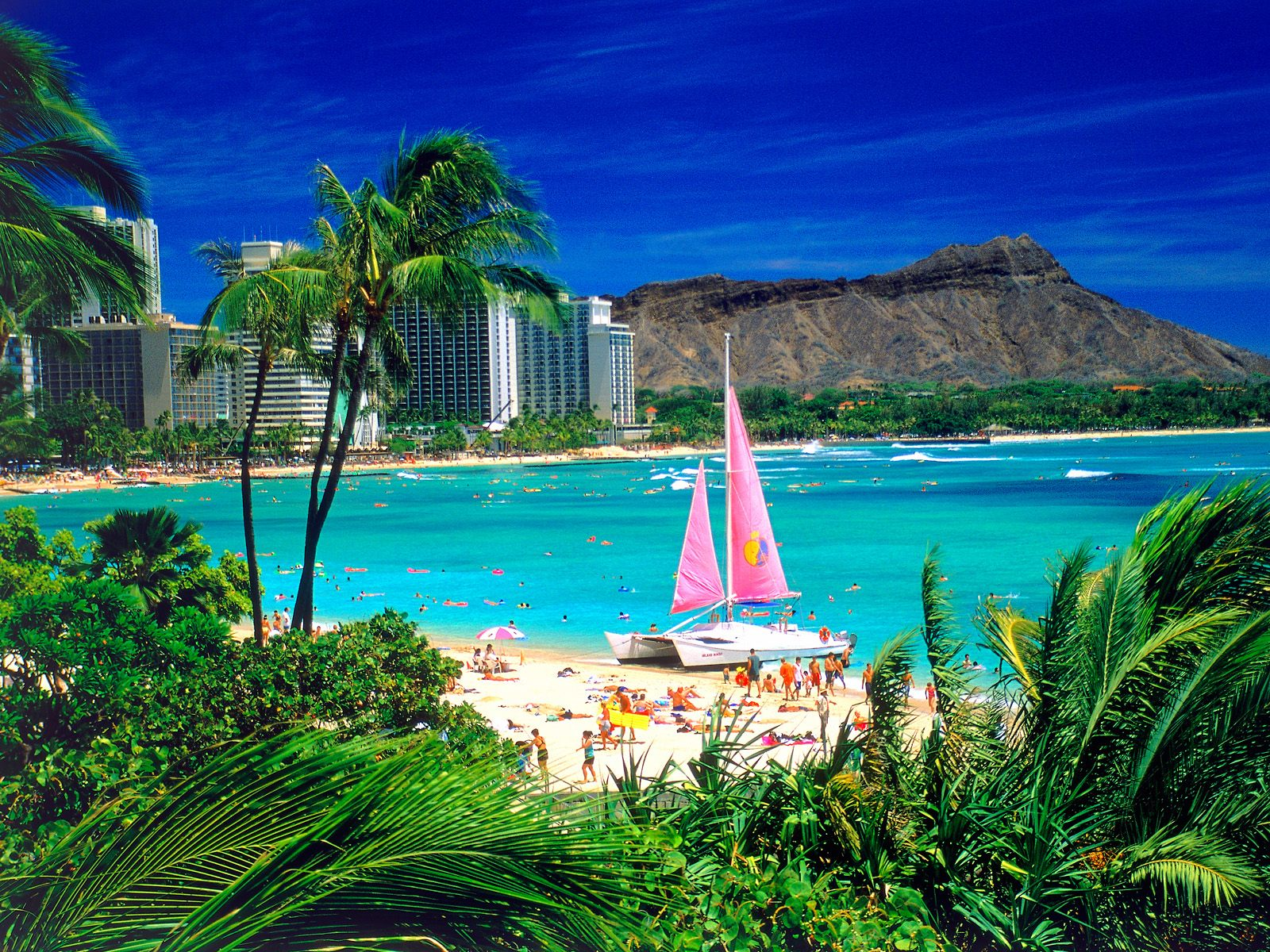 Beautiful Beach And Cruise Oahu Hawaii A Must See For Everyone