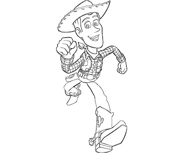 #9 Toy Story Coloring Page