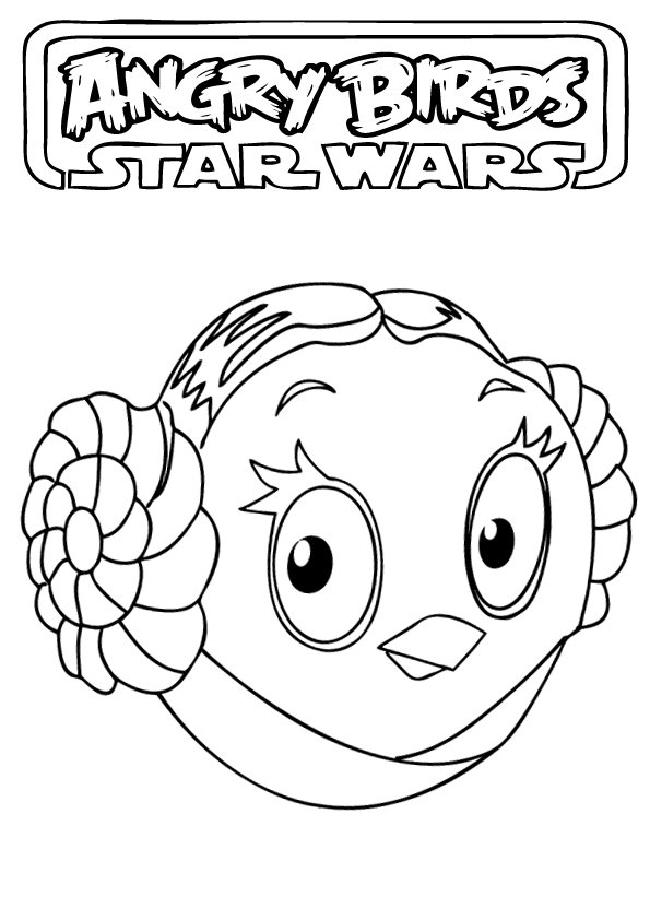 Get Angry Birds Star Wars Coloring Pages And Make This Wallpaper For Your Desktop Tablet Or Smartphone Device Best Results You Can Choose Original