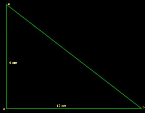 Menentukan Panjang Sisi Miring Segitiga Siku Siku Menggunakan Teorema Phytagoras