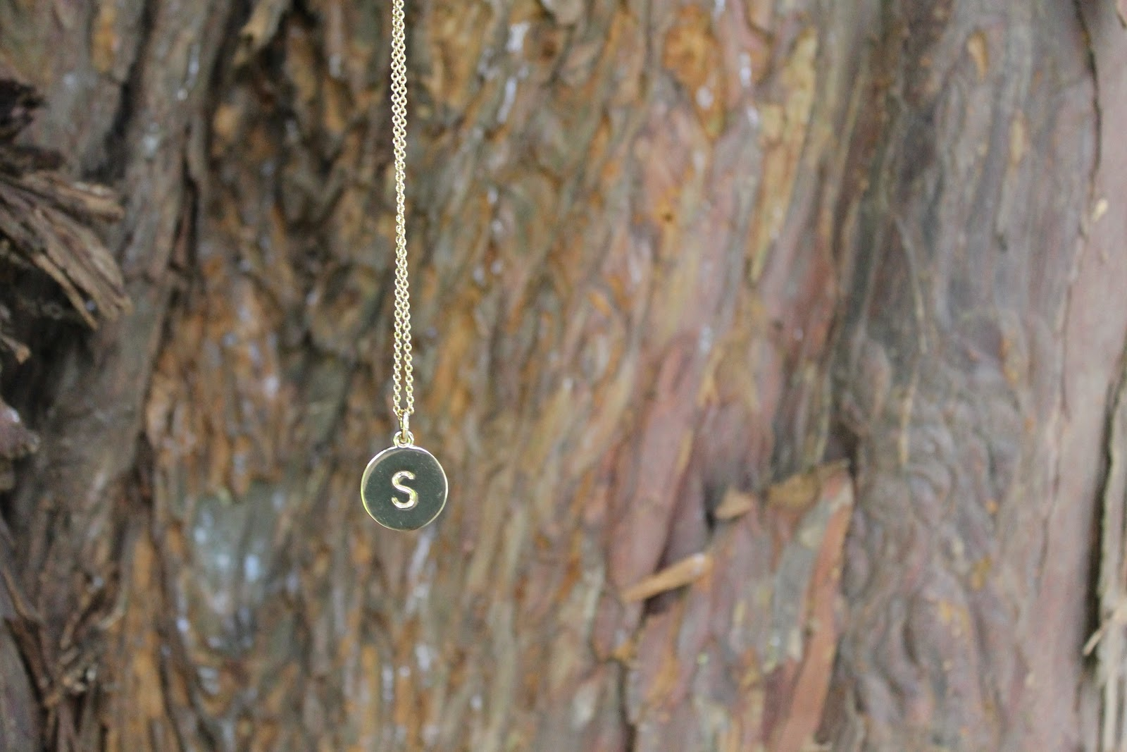 one in a million kate spade initial necklace
