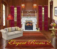 Elegant Rooms 2 digital fantasy backgrounds
