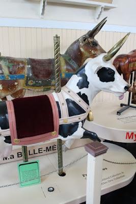 Restored Cow • Merry Go Round Museum • Sandusky, Ohio